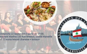 Soirée libanaise - Association des Libanais à Marseille