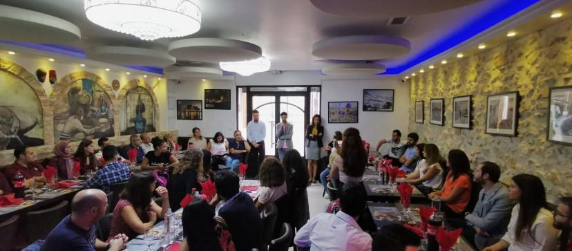 بالصور: جمعية اللبنانيين في مرسيليا تنظم أول نشاط لها