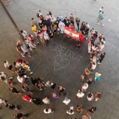 Association des Libanais à Marseille - Rassemblement suite à l'explosion à Beyrouth